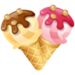 Ice cream heart - valentines-day icon
