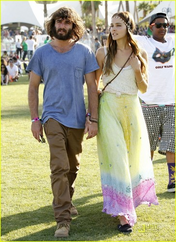 Isabel Lucas: Coachella Weekend with Angus Stone!