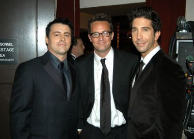 Joey Chandler and Ross