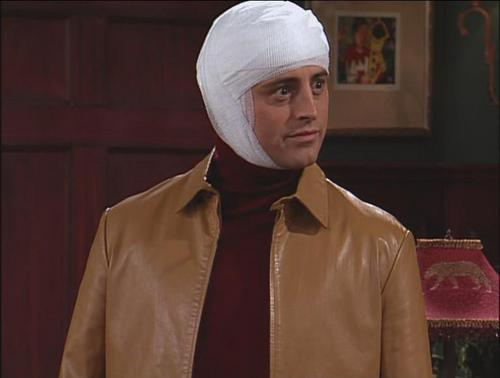Joey Tribbiani پیپر وال titled JoeysNewBrain