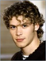 Joseph morgan in Hex with short, blond, curly hair!
