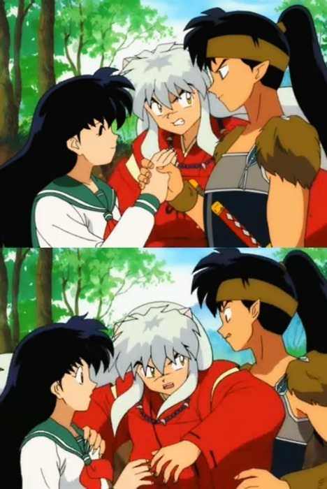 Koga and kagome wedding