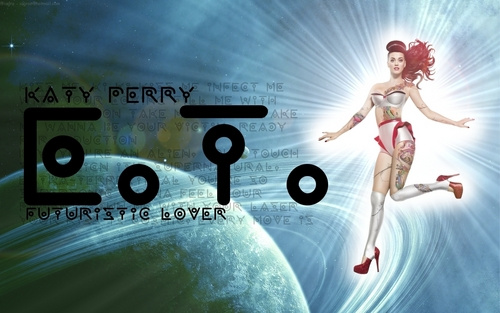 Katy Perry E.T. Wallpaper by @iagro - katy-perry Wallpaper