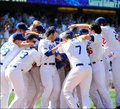 Kemp Hits a Walk Off Homer 4/17 - los-angeles-dodgers photo