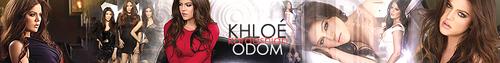 Khloe Kardashian Banner.