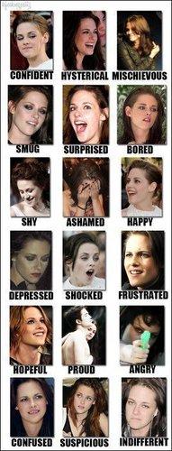 Kristen Stewart moods