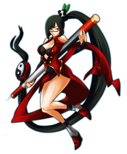 Litchi Faye-Ling Blazblue Continuum Shift art