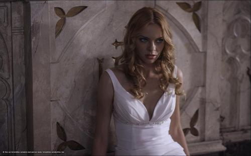 Lilith wallpaper probably containing a cocktail dress, a chemise, and a dress called Lucifer Rising Episode Stills