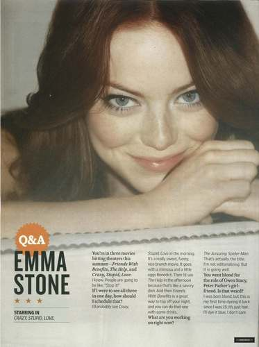 Magazine scans: Entertainment Weekly's Summer Movie প্রিভিউ special