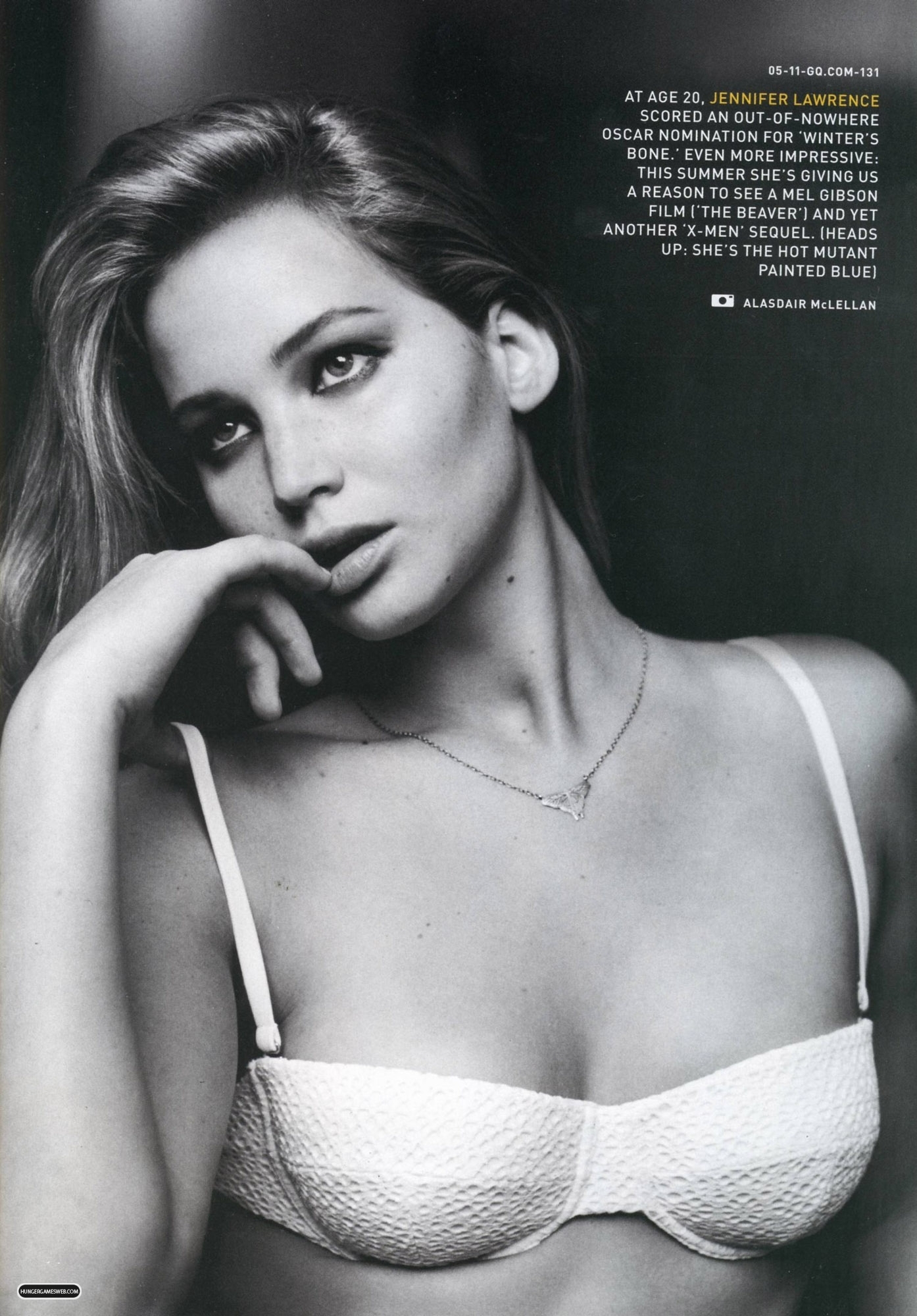 Magazine scans: GQ - May 2011