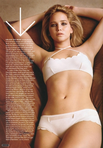 Magazine scans: GQ - May 2011 - jennifer-lawrence Photo