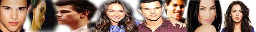 Megan zorro, fox & Taylor Lautner