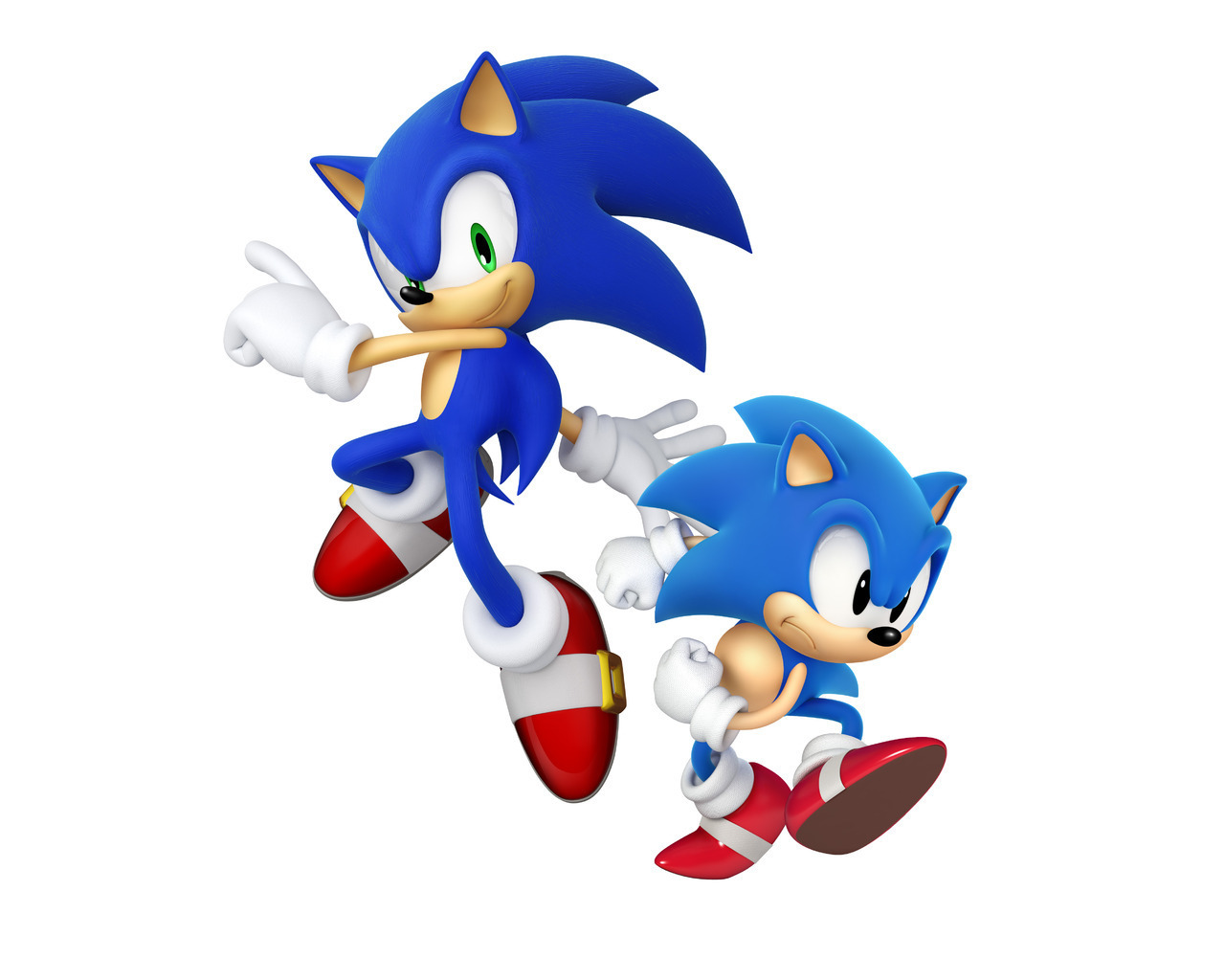 Modern Sonic And Classic Sonic Sonic The Hedgehog Photo 21157735 Fanpop
