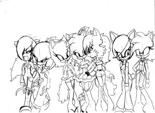 My Female fan Characters