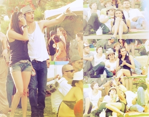 Nian At Coachella Musica Festival (Love These 2 On Screen & Real Life) 100% Real ♥