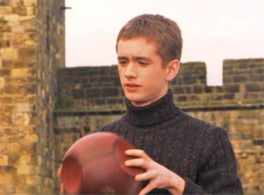 Oliver Teaching Quidditch