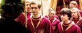 Oliver with his Quidditch team mates - oliver-wood photo