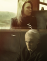 Pansy Parkinson and Draco Malfoy
