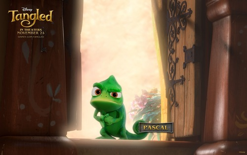 Pascal, Rapunzel's pet chamaleon in Tangled