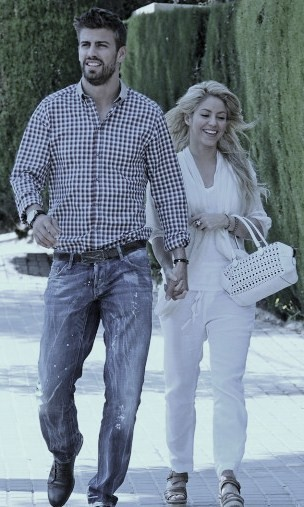 shakira in jeans. Piqué jeans went wrong