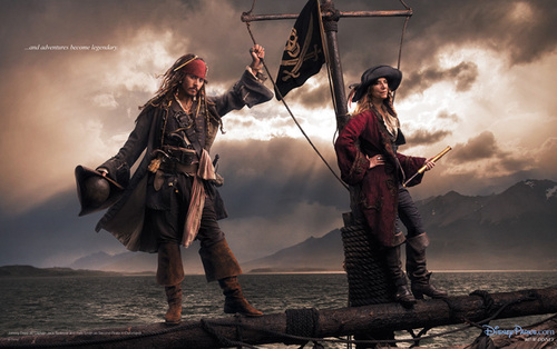 Johnny Depp wallpaper containing a rifleman called Pirates of the Caribbean On Stranger Tides Disney Dream