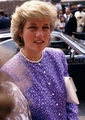 Princess Diana, Brixton, London, July 1987