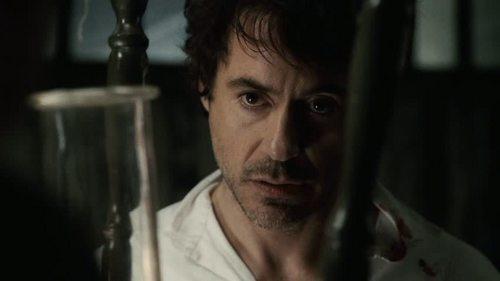 Robert Downey Jr. achtergrond titled RDJ in 'Sherlock Holmes'