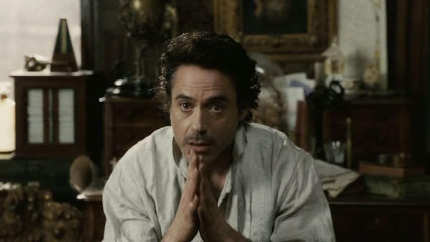 RDJ in 'Sherlock Holmes'