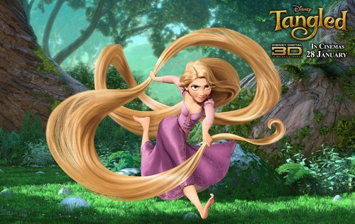 Rapunzel played 由 Mandy Moore in 魔发奇缘