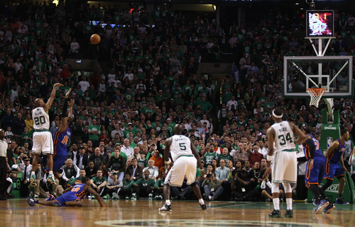 raggio, ray Allen making the winning shot