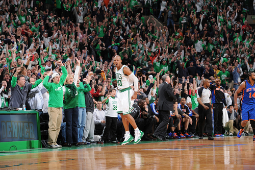 ray Allen making the winning shot