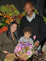 Ray Allen with his wife, Shannon and son, Walker.