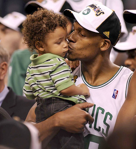 ray and his son Walker