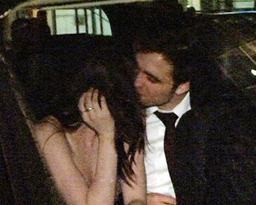 Rob & Kristen after WFE premiere (untagged)