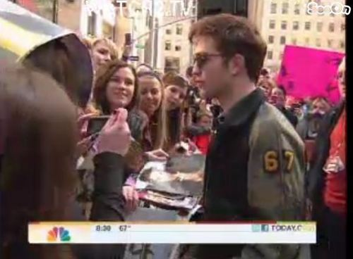 Rob on The today mostra