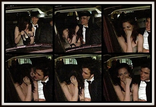 Robert Pattinson and Kristen Stewart ciuman