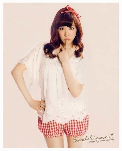 SNSD @ Sweet Magazine – May Issue 2011 – Tiffany