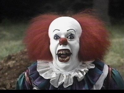 Scary clown scary clowns photo