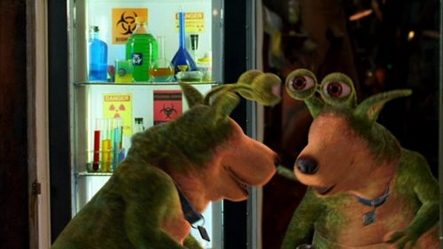 Scooby-Doo wallpaper probably with an electric refrigerator called Scooby Doo 2: Monsters Unleashed