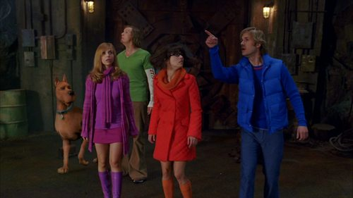 Scooby-Doo fondo de pantalla containing a calle entitled Scooby Doo 2: Monsters Unleashed