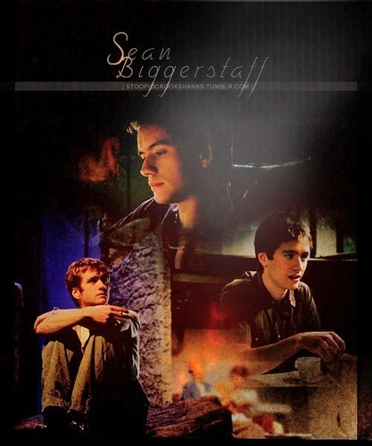 Oliver Wood wallpaper containing a fire, a fire, and a sign entitled Sean Biggerstaff (Oliver Wood)
