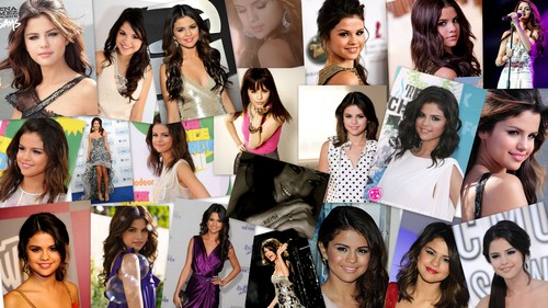 Selena Collage