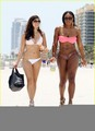 Serena Williams: Bikini de praia, praia Body!