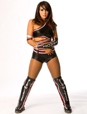 WWE 레일라 바탕화면 with a hip boot titled Sexy Lady Layla
