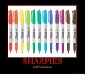 sharpies :D
