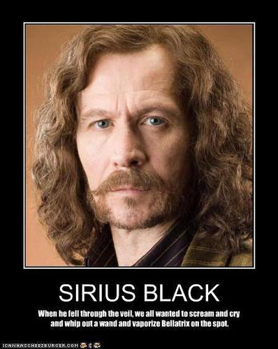 He siriusly will be missed.