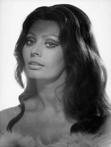 Sophia Loren wallpaper probably containing a fur coat and a portrait titled Sophia Loren
