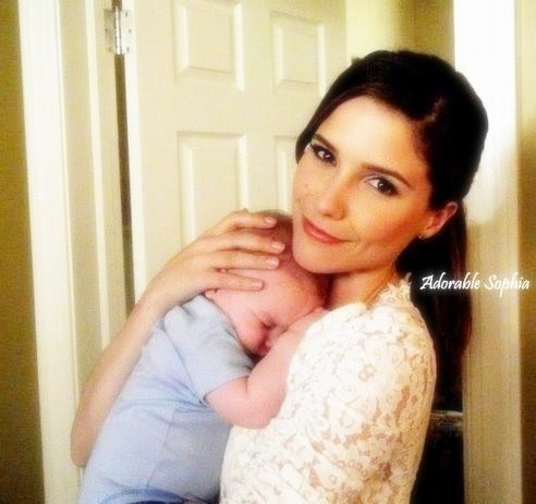 Sophia with her OTH Baby ;) - one-tree-hill Photo