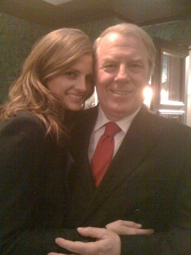 Stana with Michael McKean