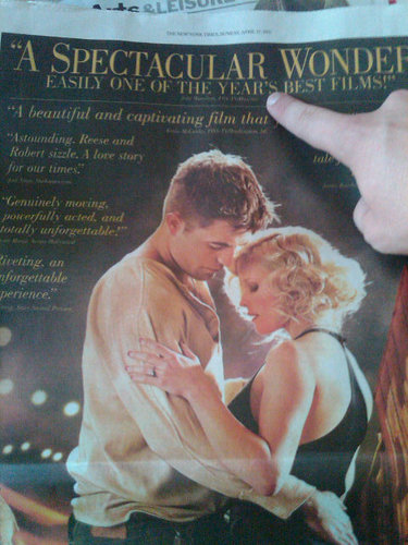 Water For Elephants Critic Citazioni In New York Times